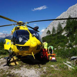 Gli inerventi di oggi del Soccorso Alpino al Rifugio Vandelli e a San Gregorio nelle Alpi