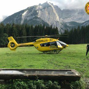 Interventi di oggi del Soccorso Alpino: a Cortina in Val di Zoldo, sul Lagazuoi sui Cadini di Misurina e al Rifugio Vandelli