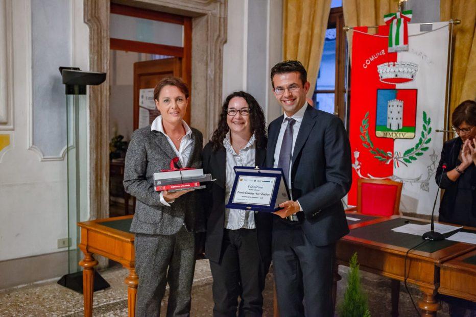 Alessandra Segafreddo vince il premio Bepi Zanfron