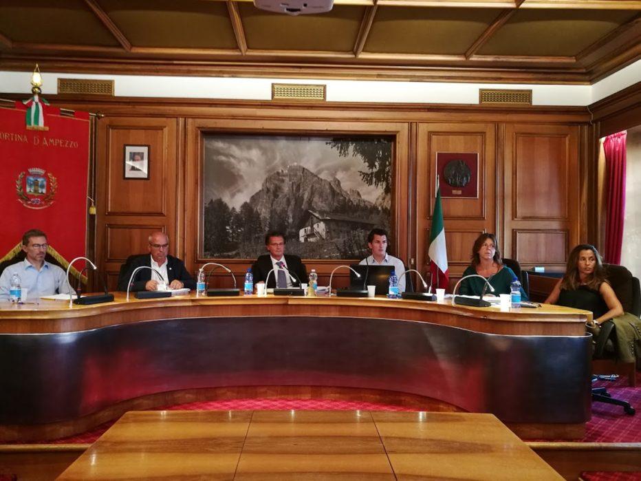 Convocazione e ordine del giorno del Consiglio Comunale di Cortina per il giorno 16 novembre 2018
