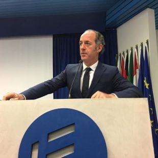 INTERVISTA AL PRESIDENTE DELLA REGIONE DEL VENETO LUCA ZAIA DEL 11 DICEMBRE 2018