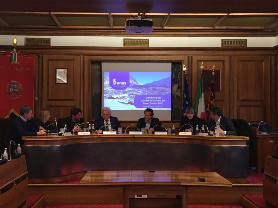 CORTINA 2021, ANAS: COMMISSARIO DI GOVERNO CLAUDIO ANDREA GEMME INCONTRA IL TERRITORIO