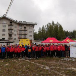 START:  a Cortina d'Ampezzo sperimentato il soccorso alpino di domani
