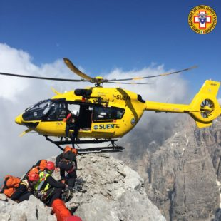 Due interventi del Soccorso Alpino a Cortina