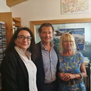 INTERVISTA AL SINDACO DI CORTINA D'AMPEZZO A CURA DI ALESSANDRA SEGAFREDDO DEL MESE DI AGOSTO 2019