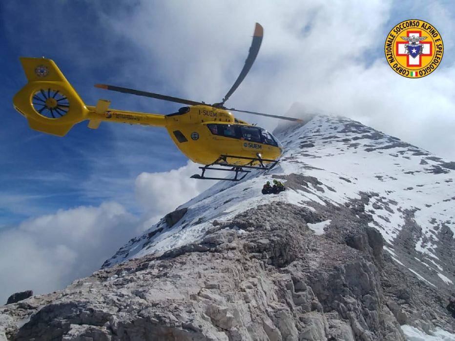 Sci alpinista perde la vita sul Nuvolau a Cortina