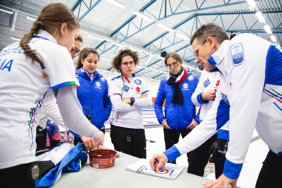 CURLING,CAMPIONATI EUROPEI 2019: V POSTO IN CLASSIFICA PER LA NAZIONALE MASCHILE. LA NAZIONALE FEMMINILE QUALIFICATE PER I PLAY OFF