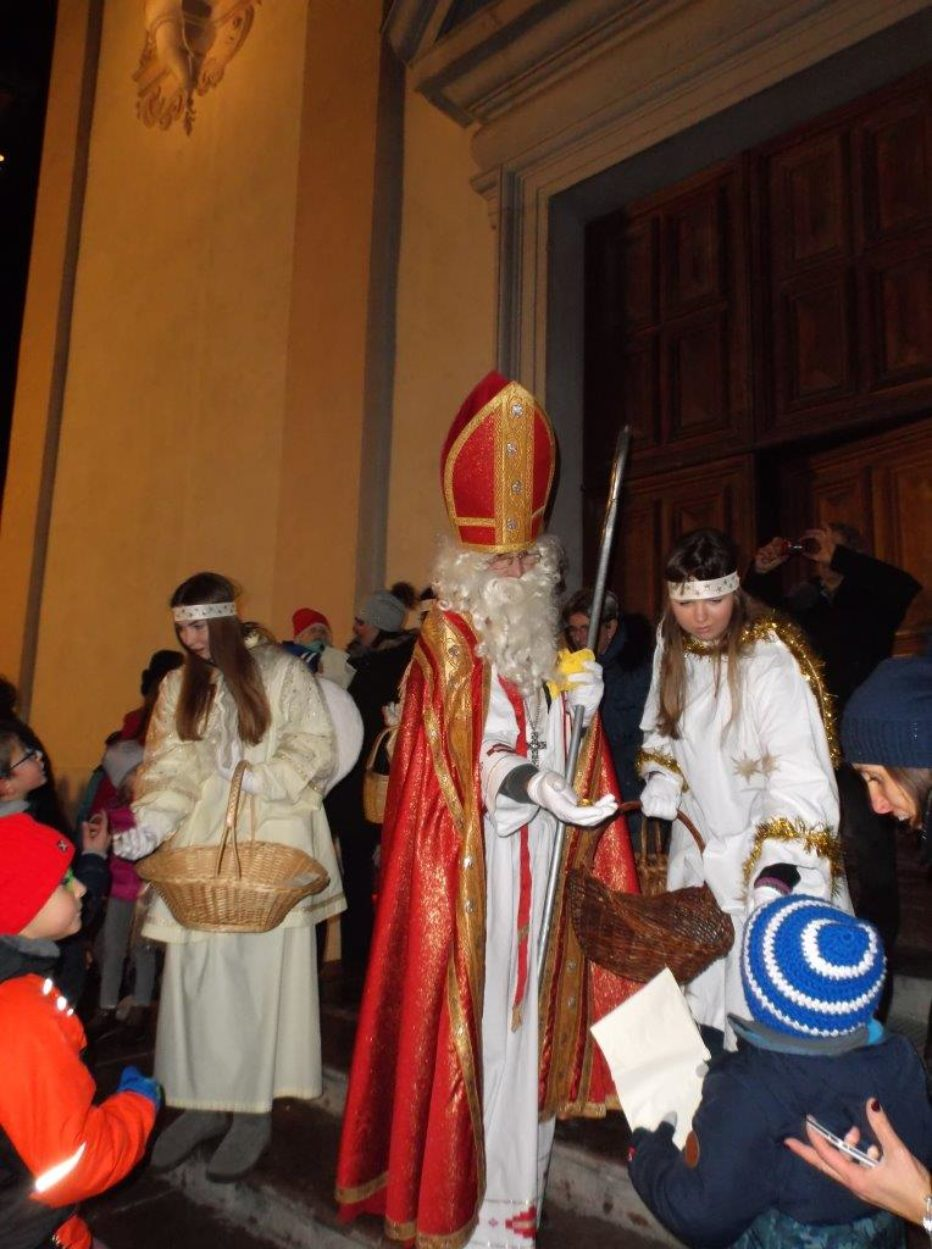 E' in arrivo San Nicolò.