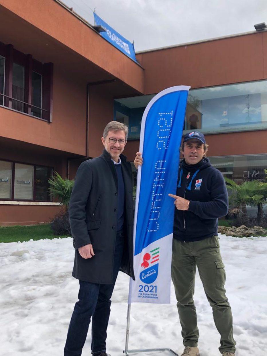 A Milano: Dolomiti Superski e Cortina 2021.