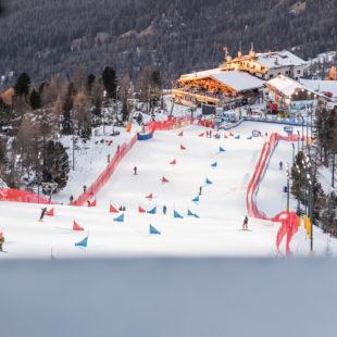 LA COPPA DEL MONDO DI SNOWBOARD DI CORTINA D'AMPEZZO.