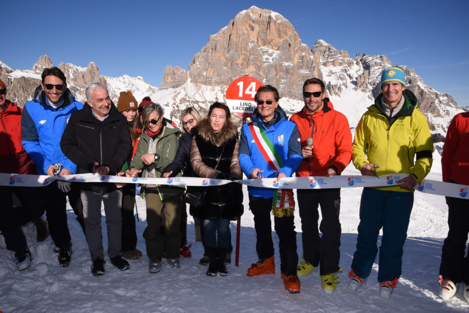 Inaugurata la nuova pista Lino Lacedelli