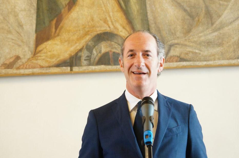 INTERVISTA AL PRESIDENTE DELLA REGIONE DEL VENETO LUCA ZAIA DEL 28 GENNAIO 2020
