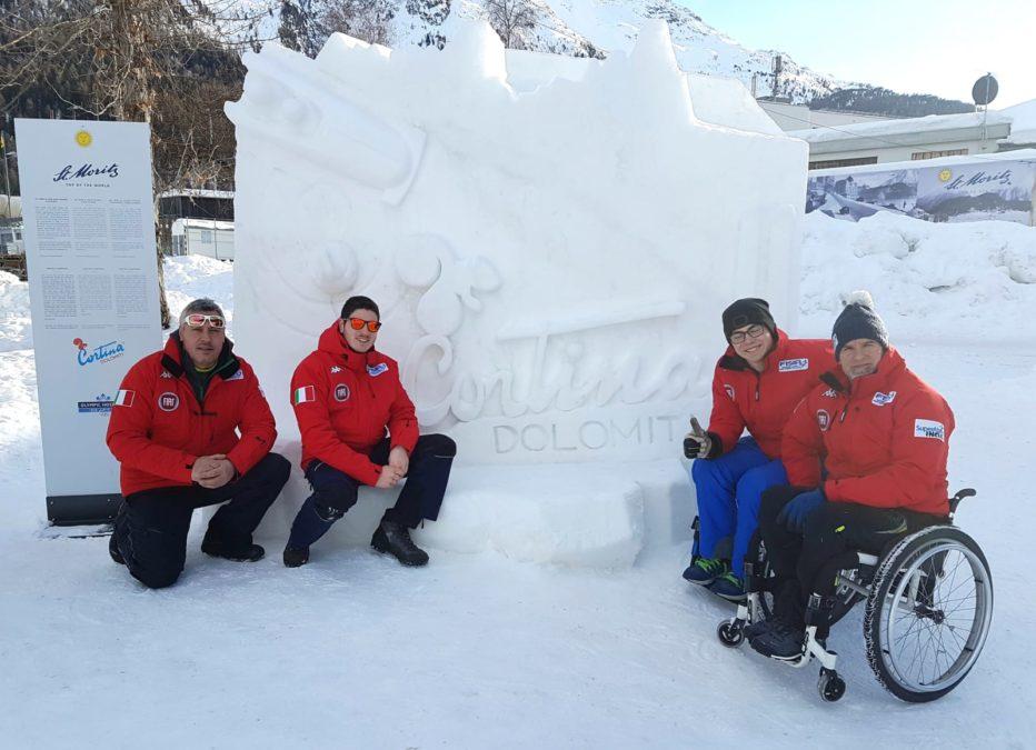Cortina: il bob e la tradizione olimpica.