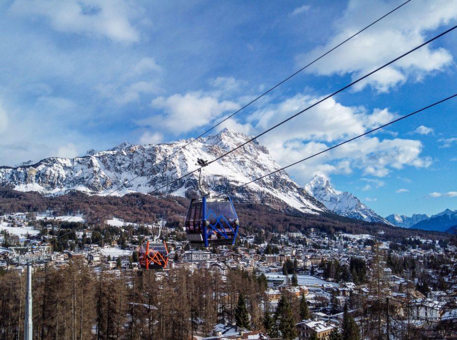 """""""The future is now"""", a Cortina un Open Day per festeggiare la nuova cabinovia Tofana – Freccia nel Cielo."""