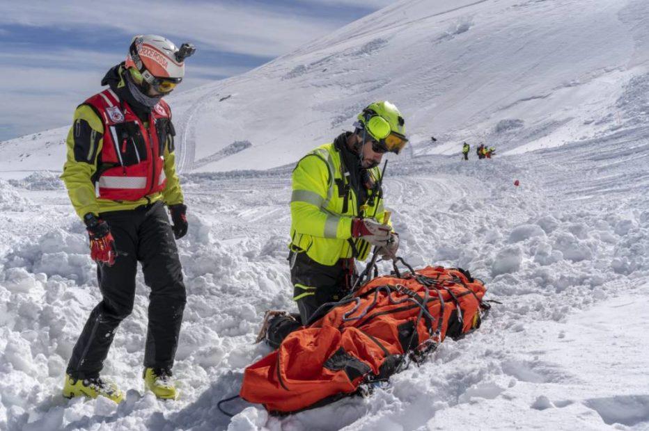 Recuperata dal Soccorso Alpino scialpinista infortunata a San Vito di Cadore sui Lastroi de Formin