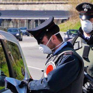 Positive al Coronavirus se ne vanno in giro: fermate dai Carabinieri.