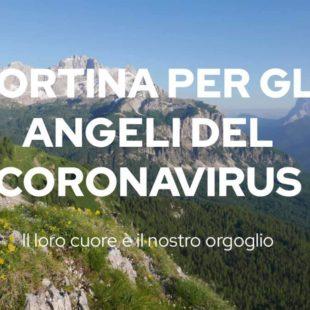 Cortina per gli Angeli del Coronavirus: il loro cuore è il nostro orgoglio