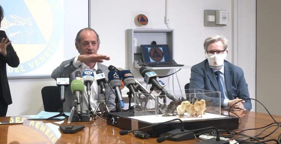 INTERVISTA AL PRESIDENTE DELLA REGIONE VENETO LUCA ZAIA DEL 7 LUGLIO 2020
