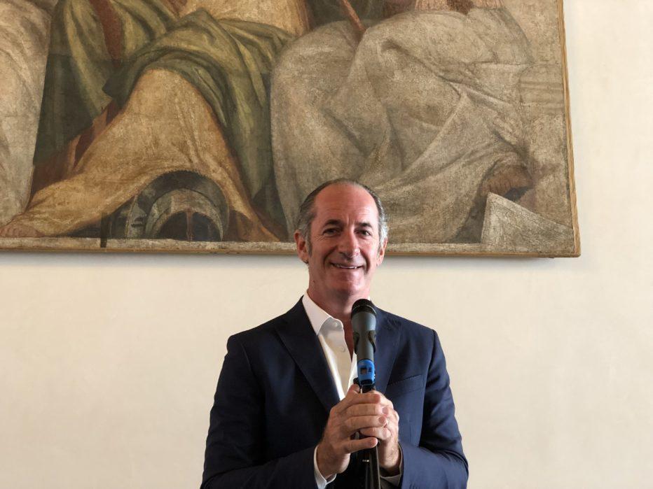 INTERVISTA AL PRESIDENTE DELLA REGIONE VENETO LUCA ZAIA DEL 5 OTTOBRE 2020