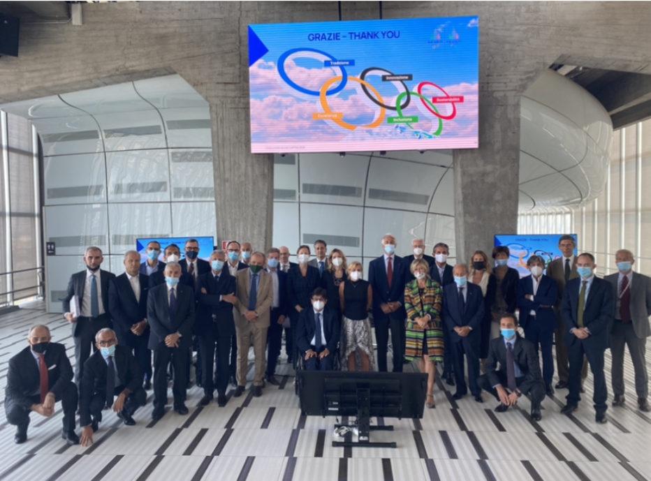 Olimpiade Milano Cortina 2026: a 2026 giorni dall'apertura dei Giochi, primo CDA dopo il lockdown.