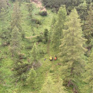 Interventi del pomeriggio del Soccorso Alpino a Vodo e Borca