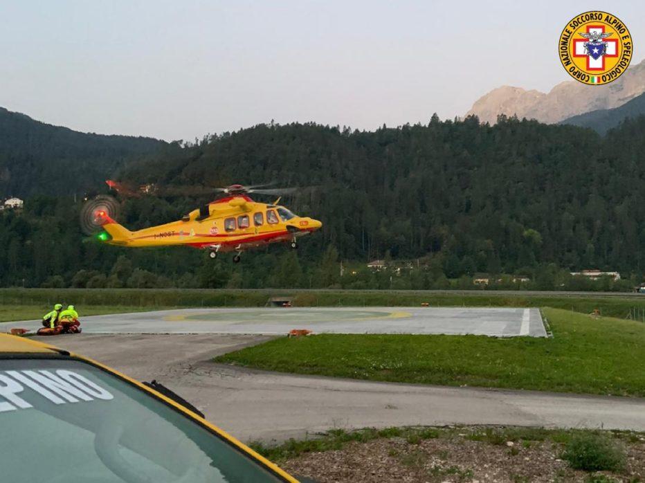 Super lavoro domenica per Suem e Soccorso Alpino