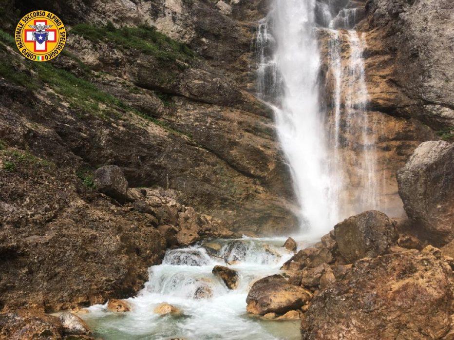 Soccorso a Zoppè di Cadore e ricerca alle Cascate di Fanes