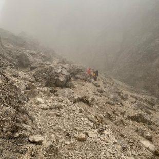 Recuperate due escursioniste di nazionalità Belga verso il Rifugio Vandelli