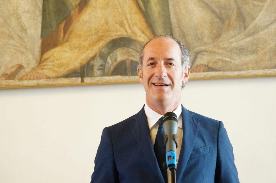 Nuova ordinanza del Presidente Luca Zaia