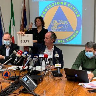 INTERVISTA AL PRESIDENTE DELLA REGIONE VENETO LUCA ZAIA DEL 24 NOVEMBRE 2020