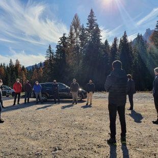 Cortina d'Ampezzo: l'avvio del cantiere Son dei Prade-Bai de Dones