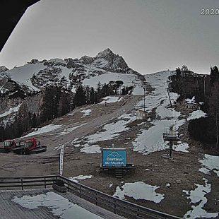 Grave giovane alpinista precipitato dalla cima Ra Zesta a Cortina
