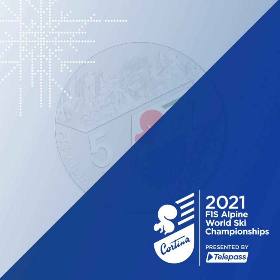 MONDIALI DI SCI ALPINO CORTINA 2021:  IN ARRIVO LA MONETA D'ARGENTO DA 5 EURO