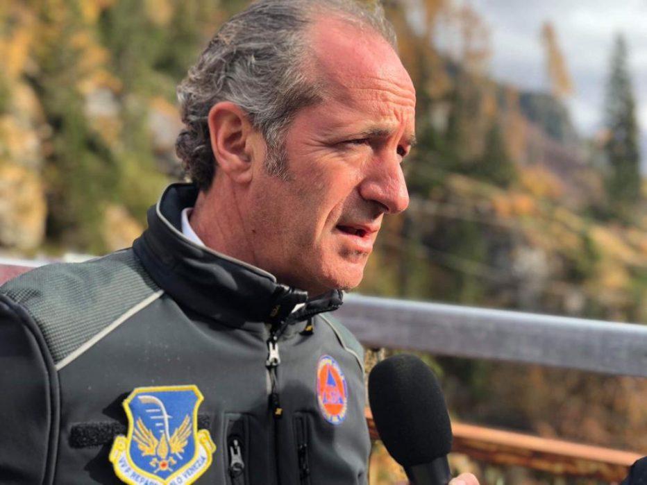 INTERVISTA AL PRESIDENTE DELLA REGIONE VENETO LUCA ZAIA DEL 2 MARZO 2021