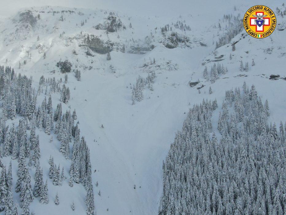 Gli interventi di oggi del soccorso alpino al passo San Pellegrino e sul Passo Giau