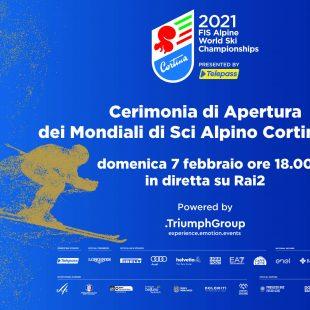 CORTINA 2021: LA CERIMONIA D'APERTURA UN OMAGGIO ALLE DOLOMITI, AL VENETO E ALL'ITALIA
