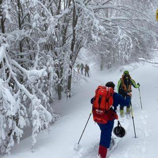 Soccorsi due sci-alpinisti in difficoltà a Cortina