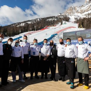 CHEF TEAM CORTINA DÀ GUSTO AI MONDIALI
