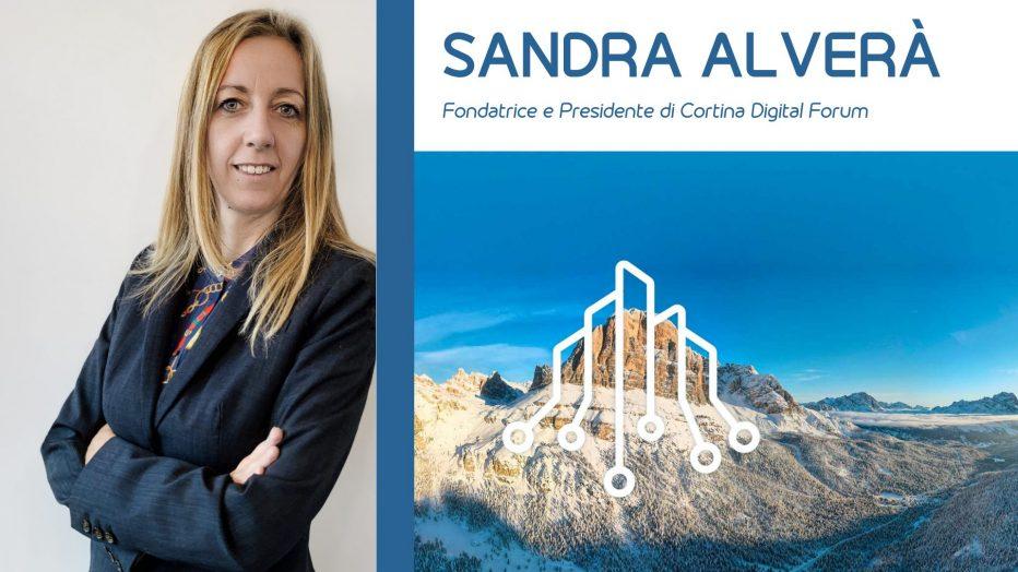 CORTINA DIGITAL FORUM: ASCOLTA L'INTERVISTA CON SANDRA ALVERA',IDEATRICE DELL'EVENTO.