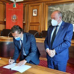Comune di Cortina d'Ampezzo e Fondazione Dolomiti UNESCO:  una nuova firma nel segno della continuità