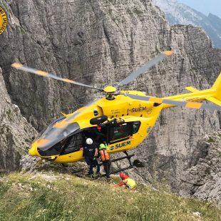 Recuperata escursionista in difficoltà a Cesiomaggiore