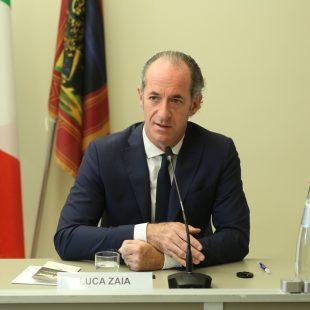 INTERVISTA AL PRESIDENTE DELLA REGIONE VENETO LUCA ZAIA DEL 12 OTTOBRE 2021