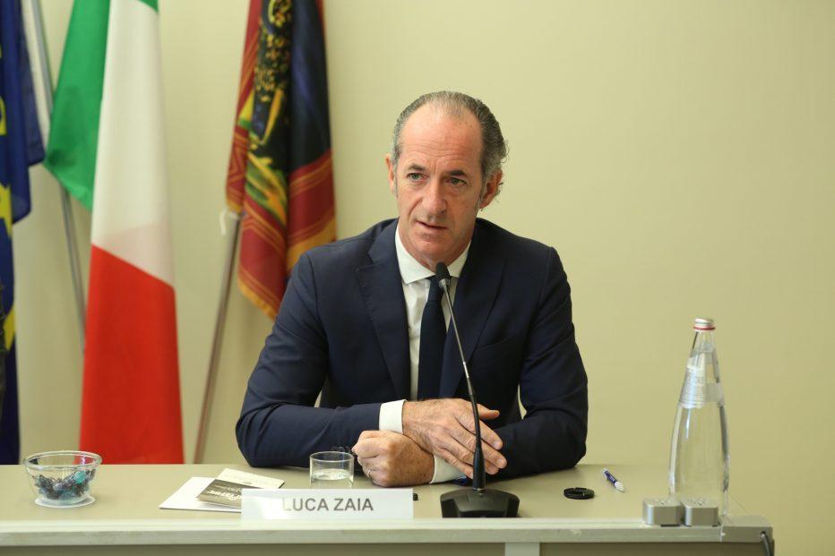 INTERVISTA AL PRESIDENTE DELLA REGIONE VENETO LUCA ZAIA DEL 20 LUGLIO 2021
