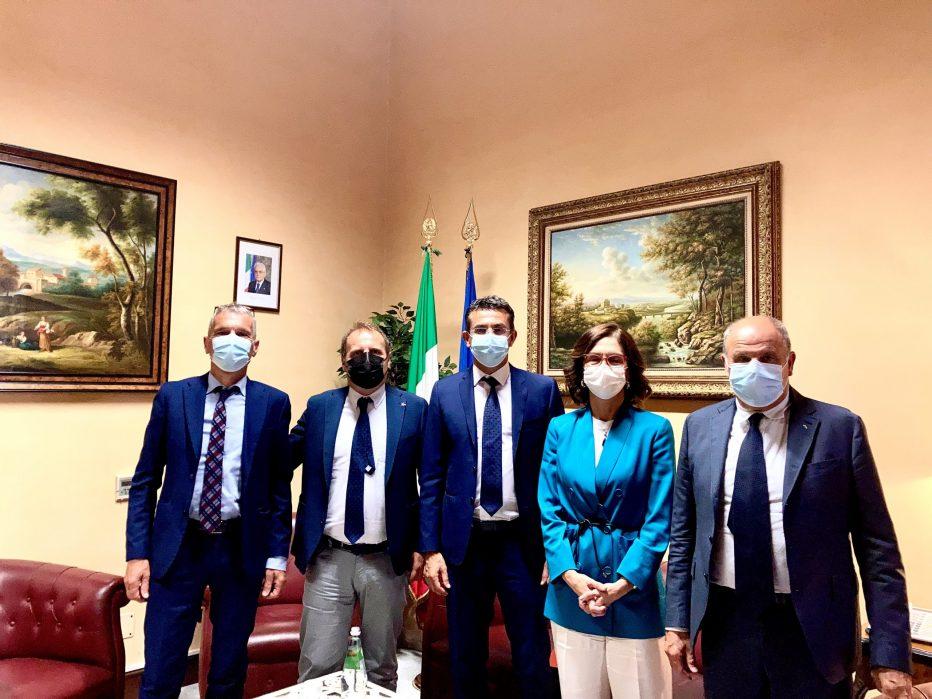 Spopolamento della montagna, la Provincia di Belluno a colloquio con il ministro per gli Affari regionali, Mariastella Gelmini