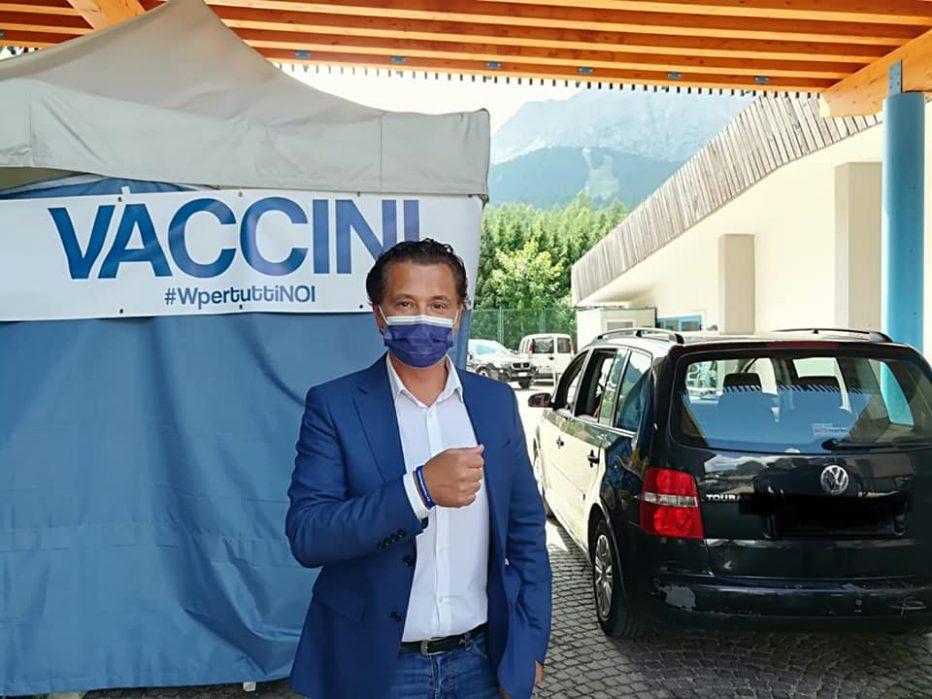 INTERVISTA AL SINDACO DI CORTINA D'AMPEZZO GIANPIETRO GHEDINA DEL MESE DI AGOSTO 2021
