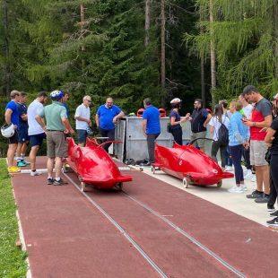Il Bob Club Cortina cerca nuovi talenti del bob in vista dei Giochi Olimpici Giovanili del 2024