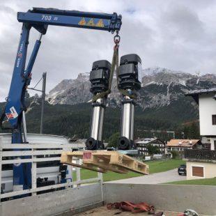 Ultimati i lavori all'acquedotto di Chiave a Cortina d'Ampezzo.